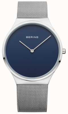 Bering Cadran bleu à maille classique 12138-007