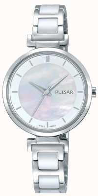 Pulsar Cadran en perles en céramique en acier inoxydable PH8269X1