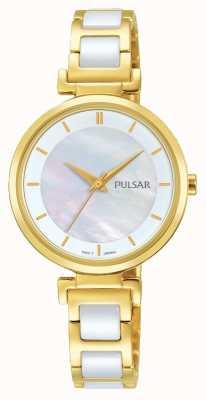 Pulsar Montre en or plaqué or en céramique PH8272X1