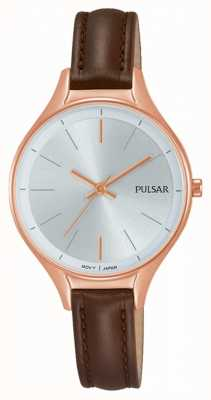 Pulsar Montre femme en cuir marron PH8282X1