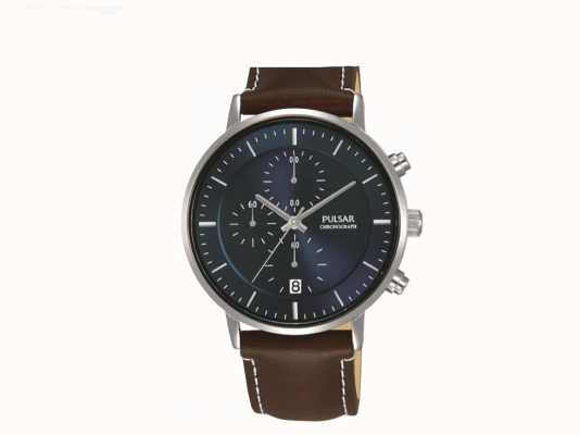 Pulsar Horloge chronomètre en acier inoxydable Gents PM3079X1