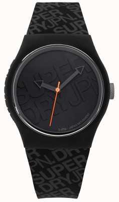 Superdry Silicone noir urbain unisexe SYG169B