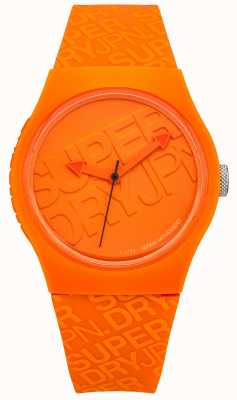 Superdry Unisexe silicone orange urbain SYG169O