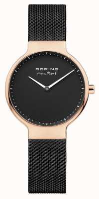 Bering Bracelet en maille interchangeable Ladies max rené noir 15531-262