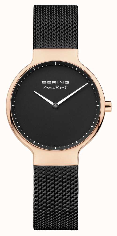 Bering Bracelet en maille interchangeable Ladies max rené noir 15531 262