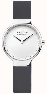 Bering Bracelet interchangeable en caoutchouc noir Ladies max rené 15531-400