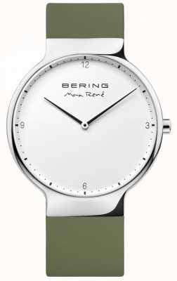 Bering Bracelet en caoutchouc vert interchangeable Mens max rené 15540-800