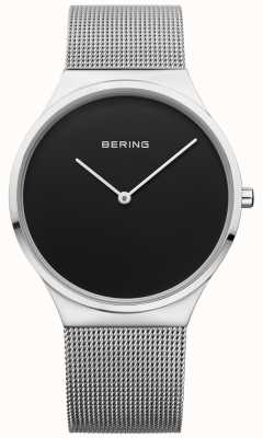 Bering Mens classique Milanese mesh black face 12138-002