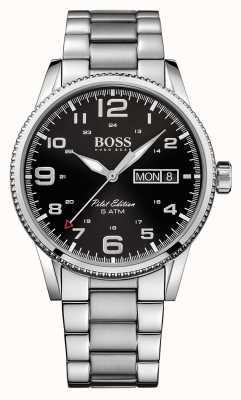 Hugo Boss Gents pilote millésime montre en acier inoxydable 1513327