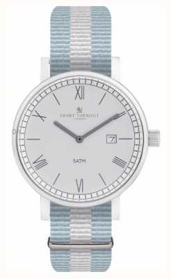 Smart Turnout Montre County - argent avec bracelet ell STK1/SV/56/W
