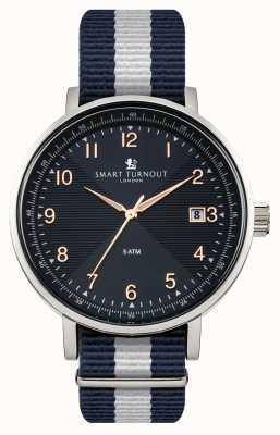 Smart Turnout Scholar bleu montre avec bracelet yale STH3/BL/56/W