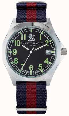 Smart Turnout montre militaire avec bracelet en hd STA/56/W