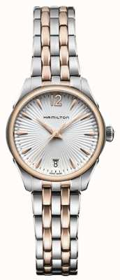 Hamilton Womans jazzmaster quartz deux tons H42221155