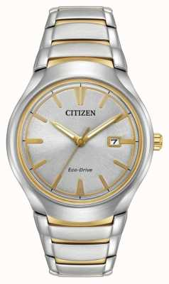 Citizen Mens Eco Drive deux tons paradigme AW1554-59H