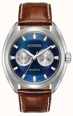 Citizen Mens eco-drive cadran bleu Paradex BU4010-05L