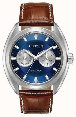 Citizen Mens eco-drive cadran bleu Paradex BU4010-05L