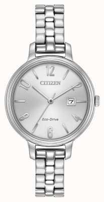 Citizen Womans eco-drive argent chandler EW2440-53A