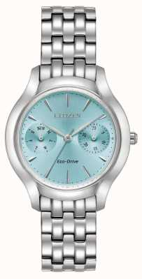 Citizen Womans eco-drive silhouette chandler bleu FD4010-57L