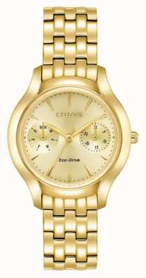 Citizen Womans eco-drive silhouette chandler or FD4012-51P