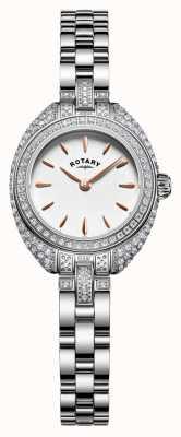 Rotary Womans pierre petite série argent bracelet LB05087/02