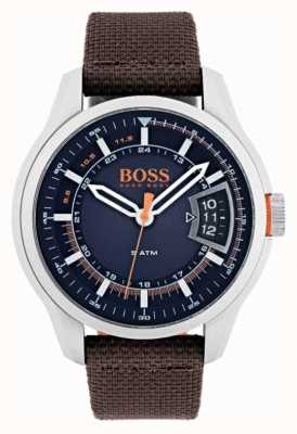 Hugo Boss Orange Bracelet brun pour homme Hong Kong 1550002