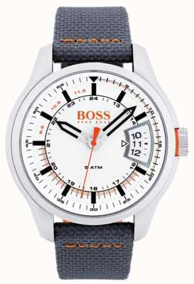 Hugo Boss Orange Mens hong kong bracelet gris 1550015