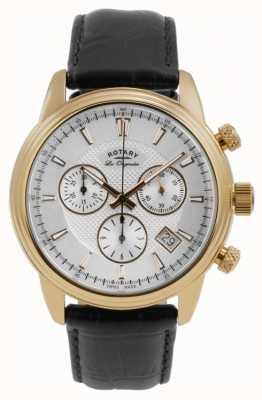 Rotary Mens monaco chronographe blanc GS90129/06