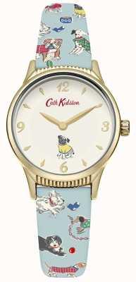 Cath Kidston Chien de femme bleu pâle CKL011UG