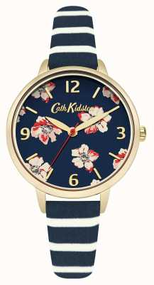 Cath Kidston Strip floral de la marine féminine CKL032UG