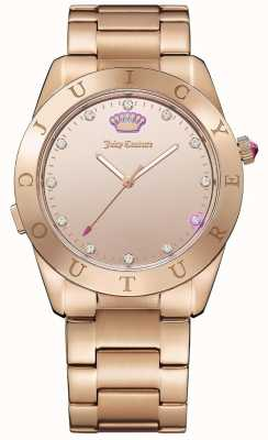 Juicy Couture Womans malibu connecter rose or smartwatch 1901501