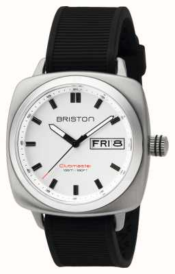 Briston Ex-affichage mens clubmaster sport acier hms blanc 16342.S.SP.2.RB-EX-DISPLAY