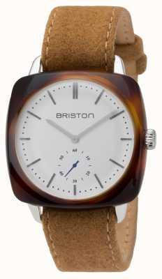 Briston Mens clubmaster vintage acétate petite seconde tortue shell 16440.SA.TV.2.LFCA