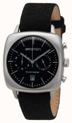 Briston Mens clubmaster vintage en acier noir 16140.S.V.1.LFB
