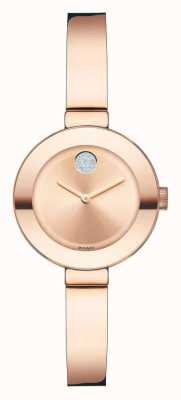 Movado GRASSE rose ion plaqué or cristal k1 3600286