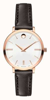 Movado or rose femmes ultra mince pvd fini 0607096