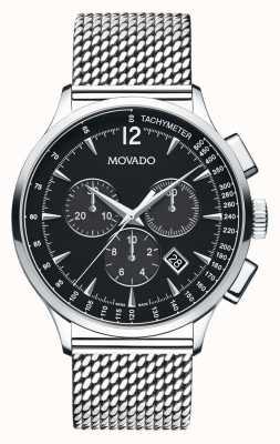 Movado chronographe vers Homme boîtier en acier inoxydable 0606803