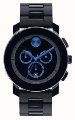Movado Gras grand composite chronographe noir TR90 3600101