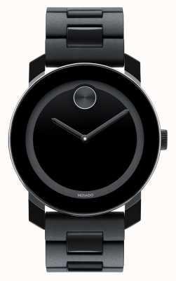 Movado Gras grand composite noir TR90 montre minimaliste 3600047