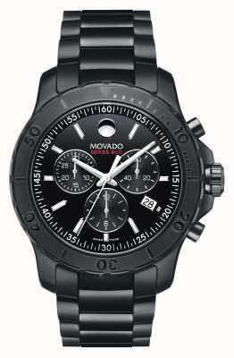 Movado série de l'acier de performance 800 chronographe Homme ™ noir 2600119