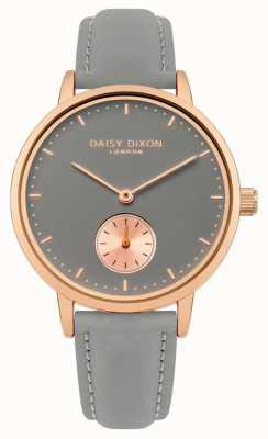 Daisy Dixon Womans sadie bracelet gris cadran gris DD048E