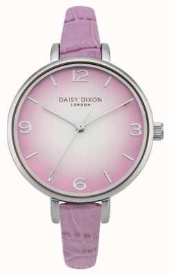 Daisy Dixon Womans millie effet croco lilas DD041V