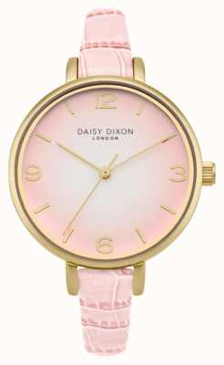 Daisy Dixon Womans millie effet croco rose DD041P