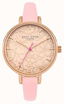 Daisy Dixon Womans phoebe cadran imprimé floral en or rose DD042P