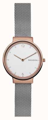 Skagen Womans ancher steel mesh rose or SKW2616