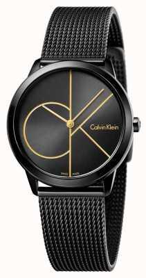 Calvin Klein Maillot noir minimal pour femme K3M224X1