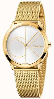 Calvin Klein Maillot minimalisé en or minimal de Womans K3M22526