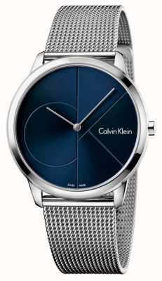 Calvin Klein Bandoulière minimale pour homme en acier inoxydable K3M2112N