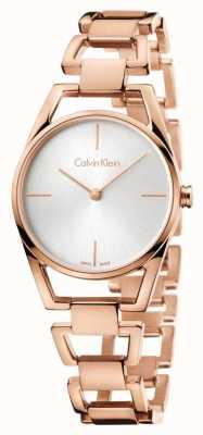 Calvin Klein Womans plaqué rose délicat or K7L23646