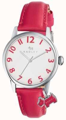 Radley Womans liverpool street bracelet en cuir rose RY2455