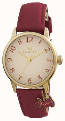 Radley Bracelet en cuir bordeaux Womans Blair RY2250